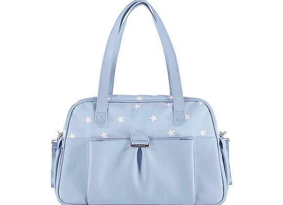 19899 Blue Pram Bag with Stars