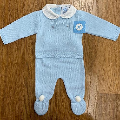 Sardon Blue Knit 2Pce