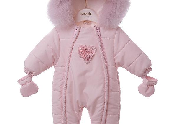 Bimbalo Pink Snowsuit