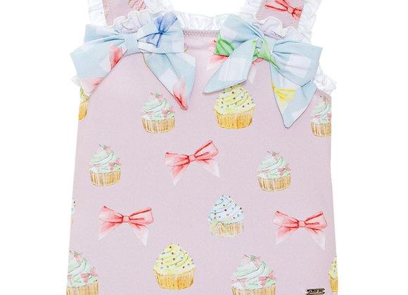 Patachou Cupcakes & Bows Swimming Costume