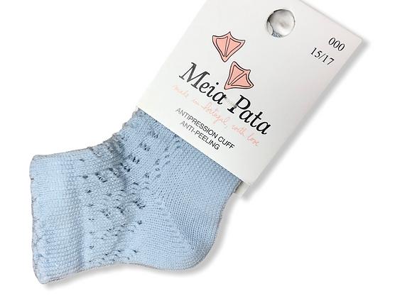 Meia Pata Pale Blue socks