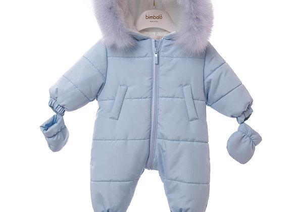 Bimbalo Pale Blue Snowsuit