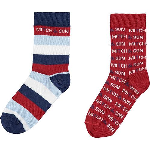 Mitch & Son Chilli Red Socks
