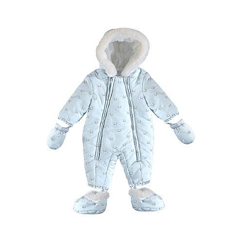 Mayoral Snowsuit Pale Blue