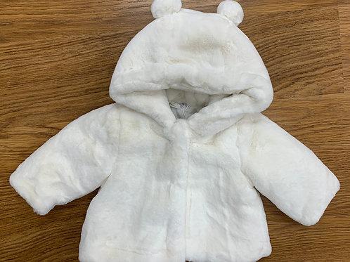 IDo Ivory Fur Coat