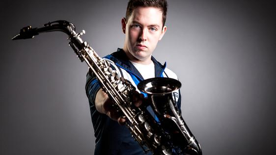 Justin Swadling Saxophone Studio Photo | 2016