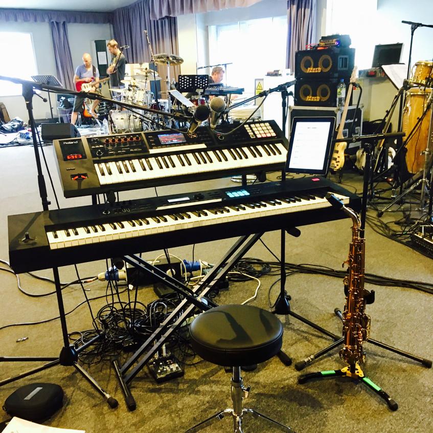 Rewind Rehearsal Keys Setup