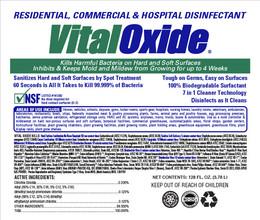 Vital Oxide Label