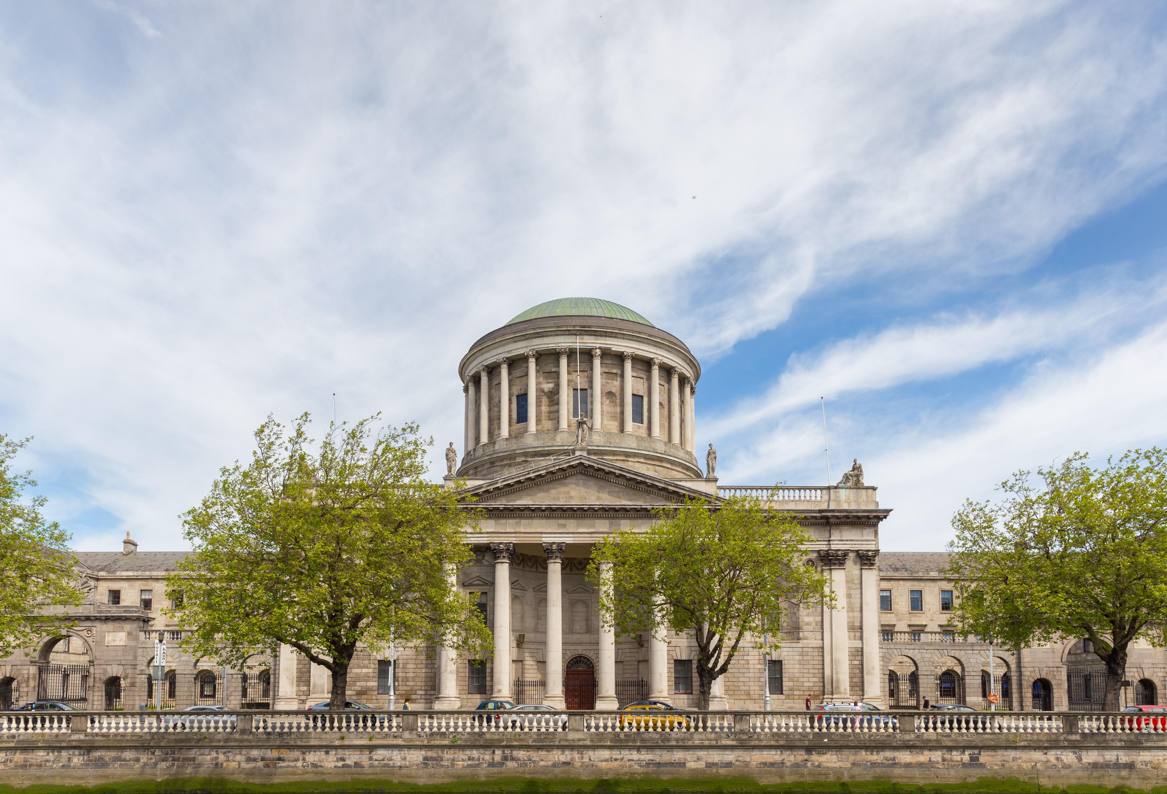 Four Courts Dublin, Ireland