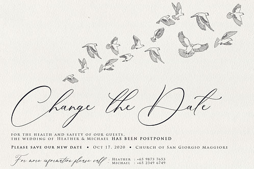 Doves (Change the Date)