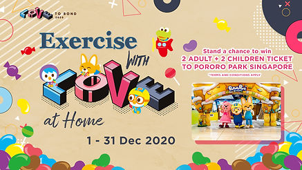 Exercise with Love at home -Post 2 - 01.