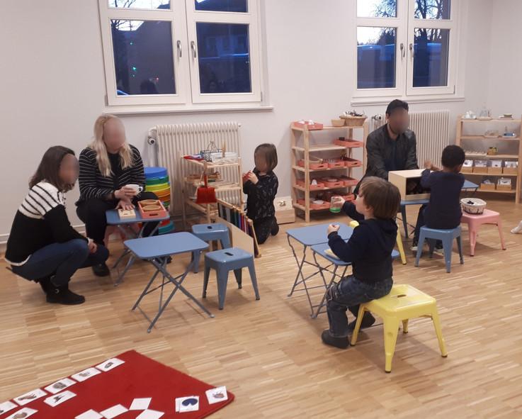 Atelier parents-enfants i-Montessori&Co
