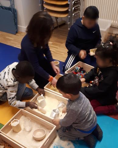 Atelier en centre socio-culturel