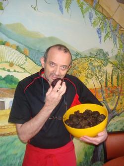 Les truffes d'été tuber eastivum