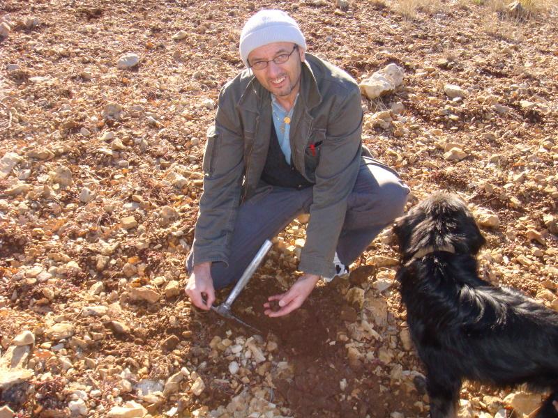 Aux truffes avec Pompon