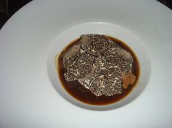 Ris de veau, truffes et sauce truffe 1.JPG