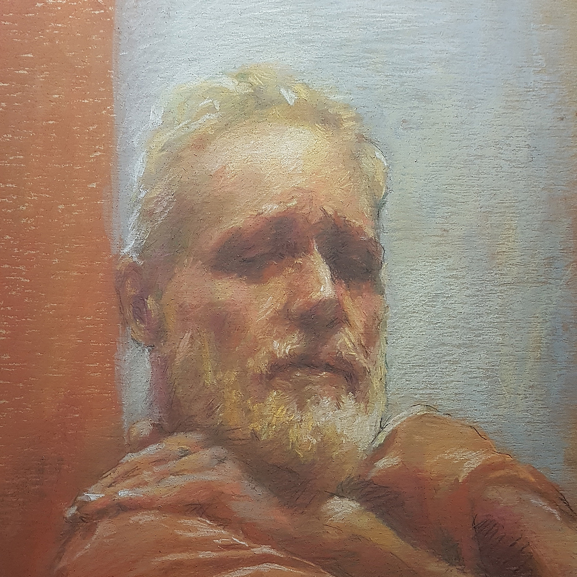 """Old artist – portrait of MAX"""