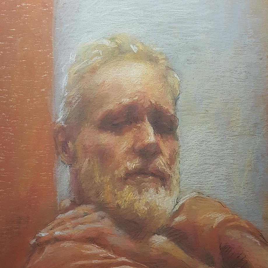"""Old artist – portrait of MAX"""