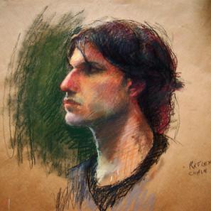 """Portrait life drawing"""