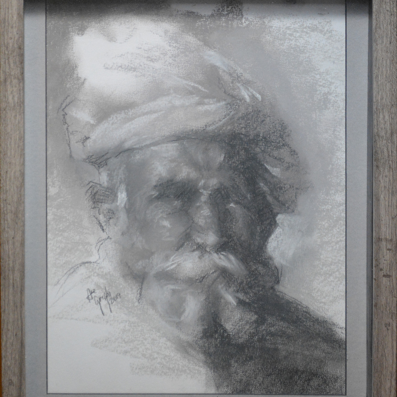 """Portrait of an Indian"""