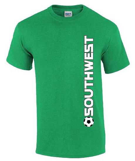 Vertical soccer shirt
