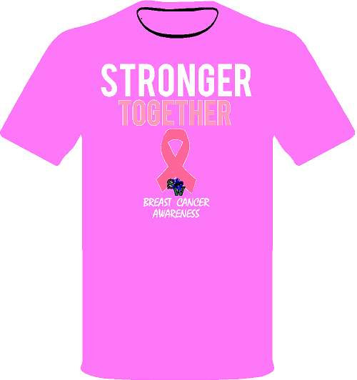 Stronger Together - Pink Shirt
