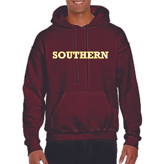 Southern Hoodie with name on back