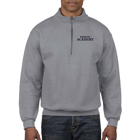 Academy Quarter Zip with Embroidered Logo