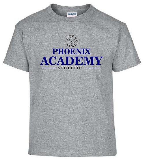 Gray Volleyball Shirt
