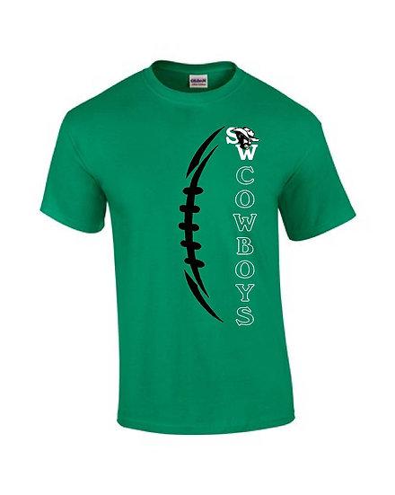 Vertical Football - Green