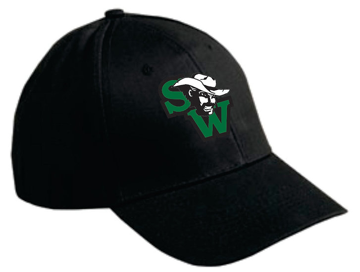 Southwest Logo 6 panel structured ball cap (Black)