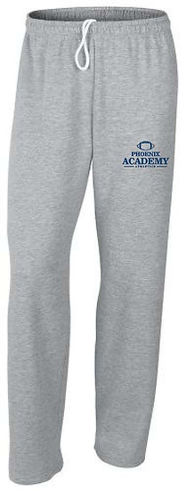 Open Leg Football Logo Sweatpants