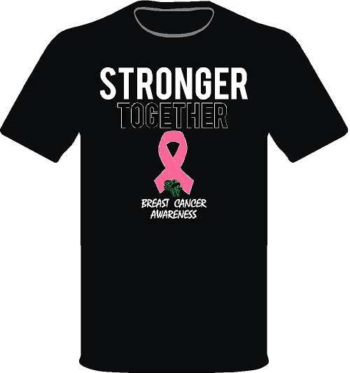 Stronger Together - Black Shirt