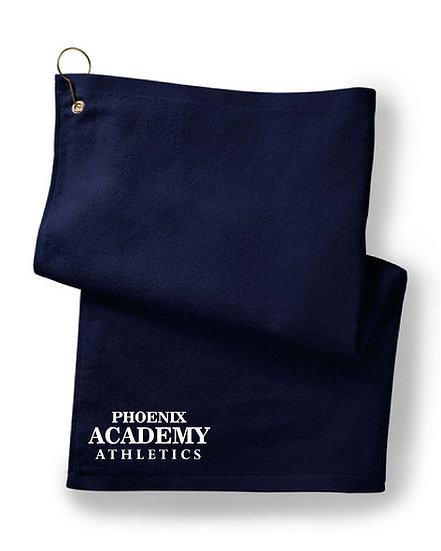 Embroidered Golf / Rally Towel - Navy