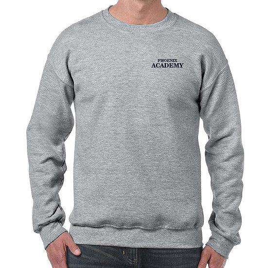 Sweatshirt with Embroidered Academy Logo