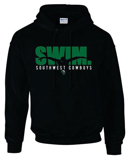 Black Hoodie: Swim