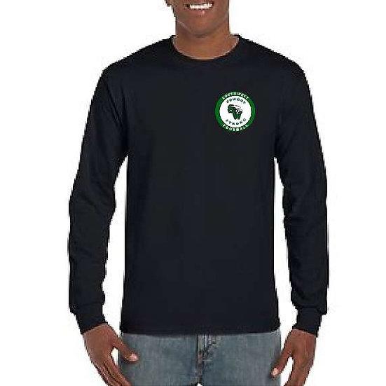 2021 Football Embroidered shirt - long sleeve