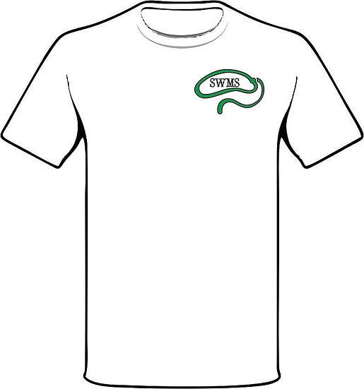 SWMS Cowboy shirt - white