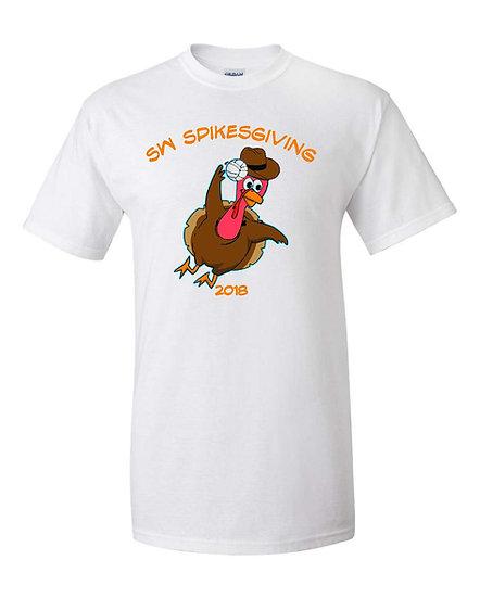 Spikesgiving short sleeve t-shirt