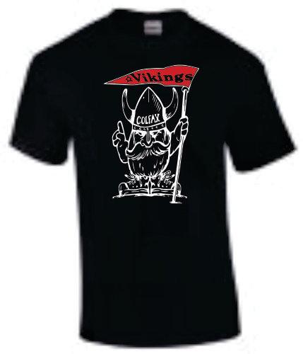 Viking Mascot - Black