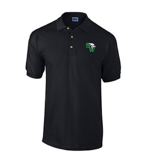 Dry Blend Polo Shirt - Black