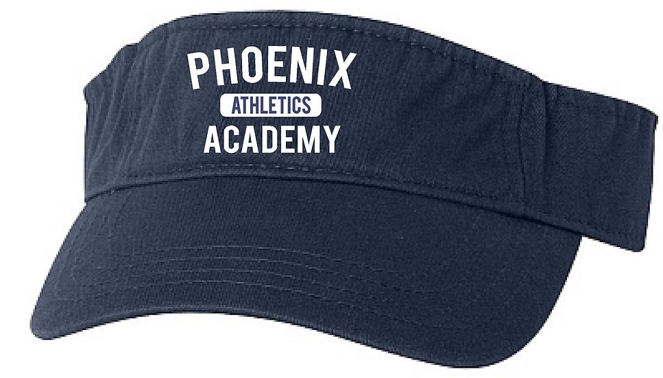 Phoenix Academy Athletics Visor - Embroidered
