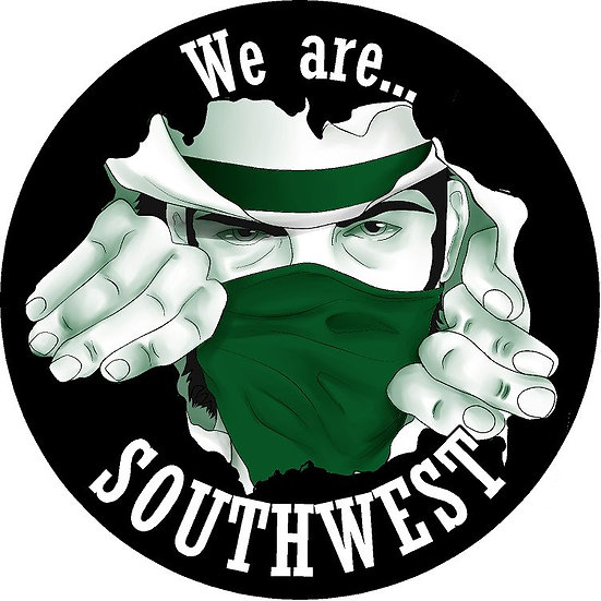 "We are... Southwest 5"" magnet"