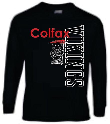 Long Sleeve Viking Style 2 - Black