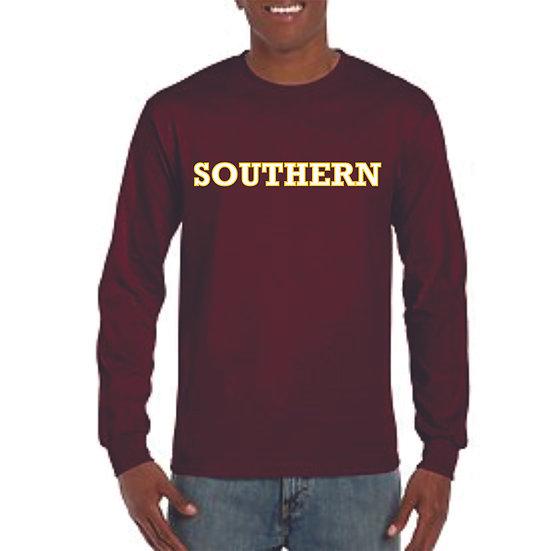 Long sleeve Southern logo printed shirt