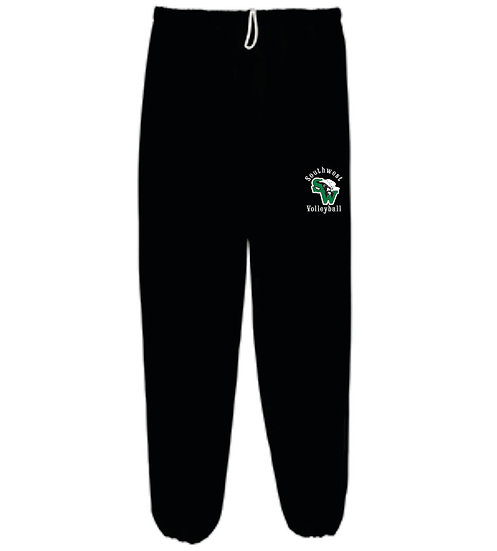 of Volleyball Sweatpants - closed leg bottom