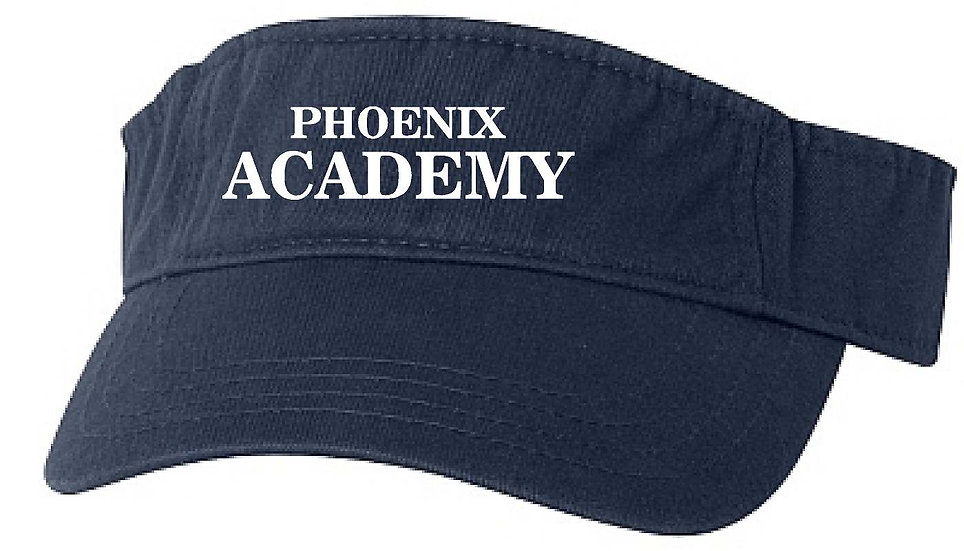 Phoenix Academy Visor - Embroidered