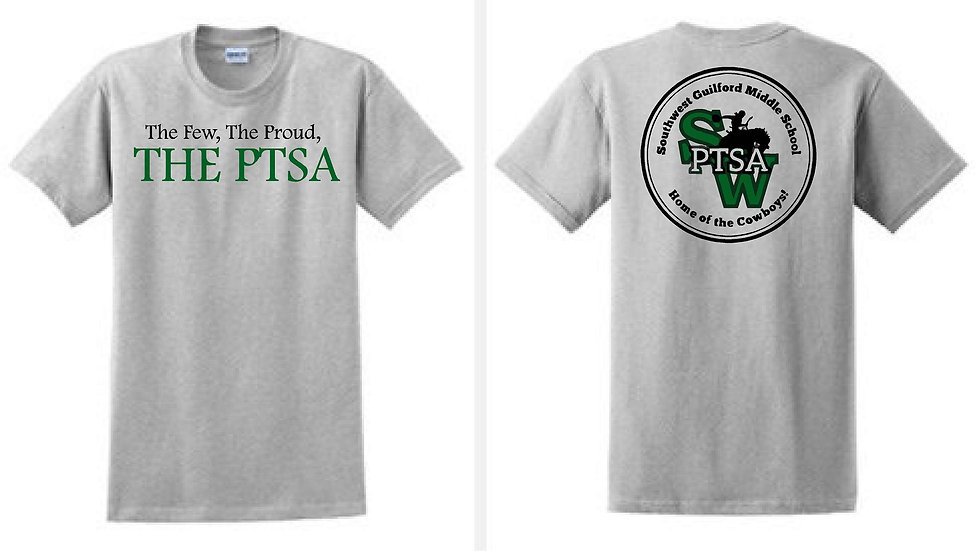 THE PTSA t-shirt - Sport Gray