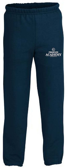 Closed Leg Basketball Logo Sweatpants