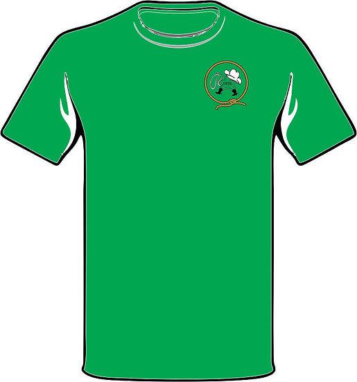 Lasso Back green t-shirt